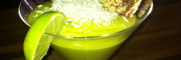 Raw Avocado Keylime Pudding