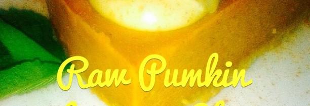 Raw Pumpkin Lacuma Cheesecake